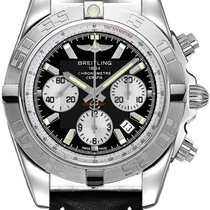 Breitling Chronomat 44 Steel 44mm Black No numerals United States of America, New Jersey, Princeton