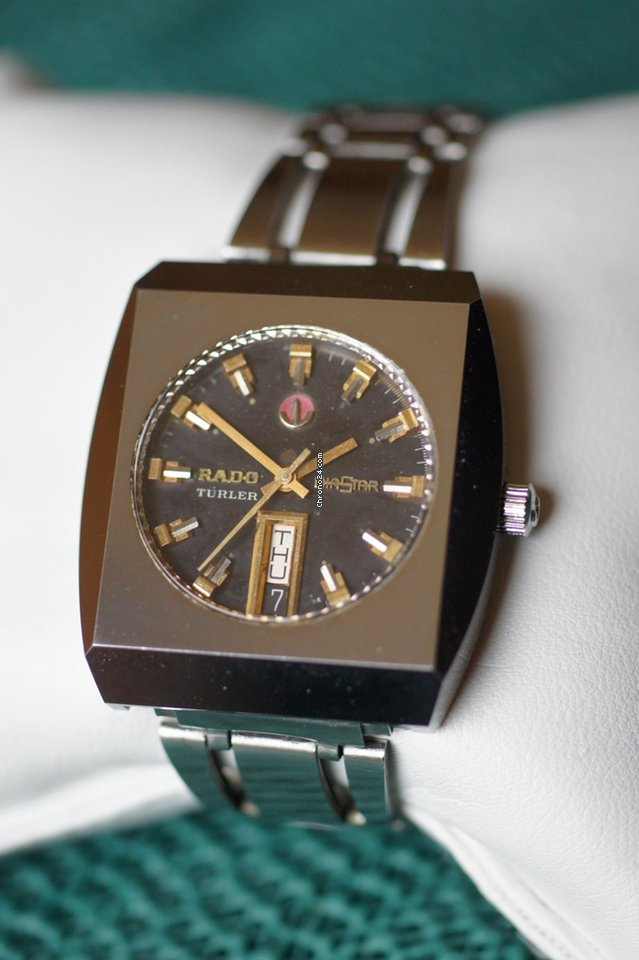 "Breitling Watches For Sale >> Rado Diastar 14 ""Türler"" Vintage Ceramic for $484 for sale ..."