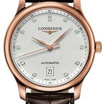 Longines Rose gold Automatic Silver 38.5mm new Master Collection