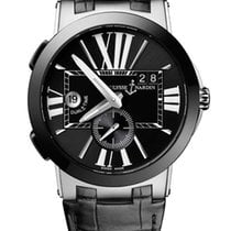Ulysse Nardin Executive Dual Time Stainless Steel &...