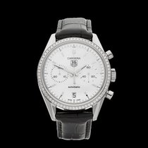TAG Heuer Carrera Chronograph Stainless steel Unisex CV2116 -...
