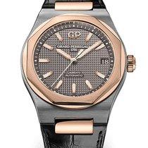 Girard Perregaux Laureato 81010-26-232-BB6A Girard Perregaux 42mm Titanio strap nero new
