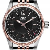 Oris Big Crown Pointer Date Stahl Rosegold Automatik Armband...