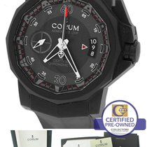 Corum Admiral's Cup Centro Mono Pusher LE PVD Black Watch