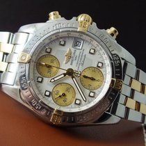 Breitling Chrono Cockpit 39 mm steel-gold