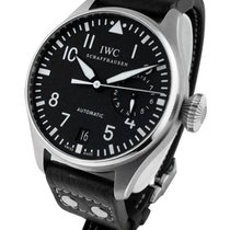 IWC 500401 Big Pilot 5004 Automatic in Steel - On Black...