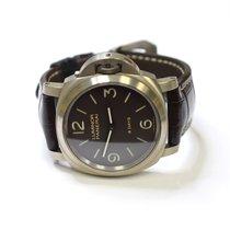 Panerai Luminor Base 8 Days Acciaio 44mm Stainless Steel Watch...