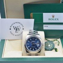 Rolex Datejust 2017 Blue Index Dial