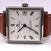 Carl F. Bucherer vintage Chronometer auto ref 1818 enamel dial