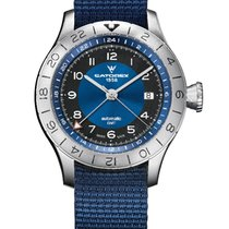 Catorex Steel 42mm Automatic Catorex GMT Voyager Blue new