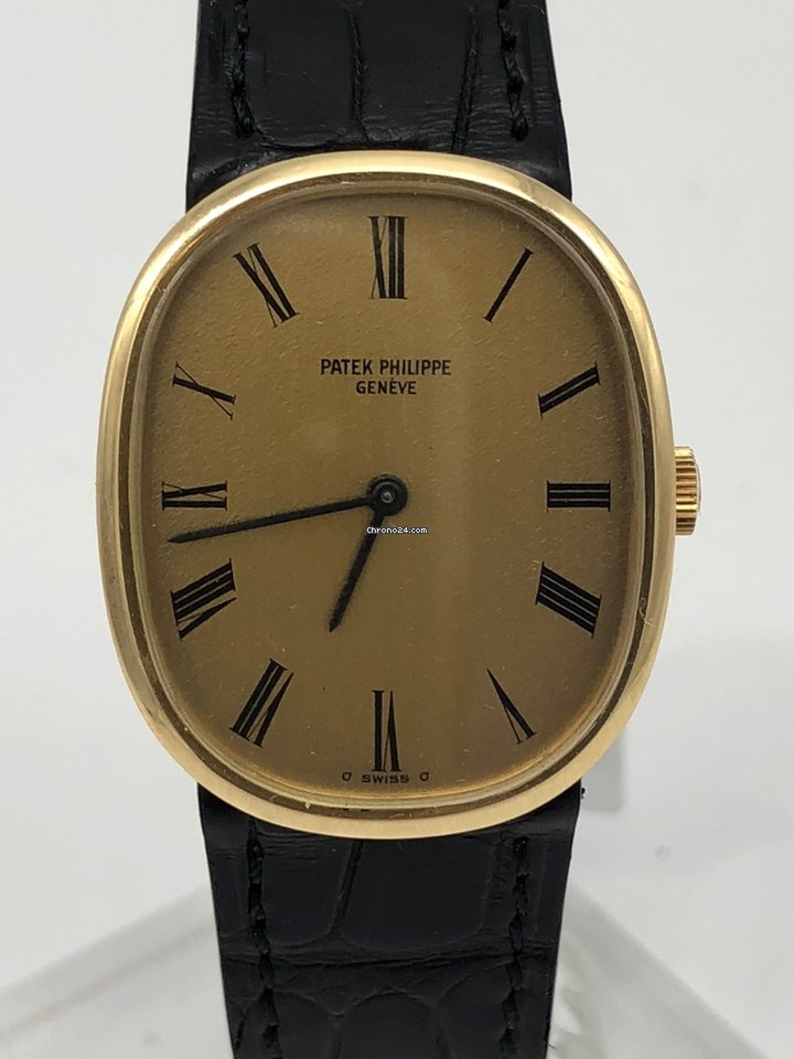 Patek Philippe Golden Ellipse gold