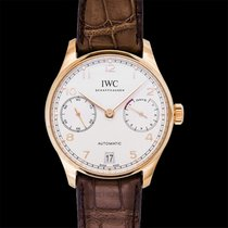 IWC Portuguese Automatic Or rouge 42.30mm Argent