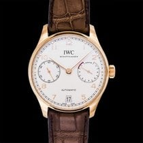 IWC Portuguese Automatic Red gold 42.30mm Silver United States of America, California, San Mateo