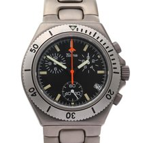 Tutima Military Titanium 40mm Black