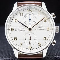 IWC Portuguese Chronograph pre-owned 40mm Steel