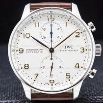 IWC Portuguese Chronograph Сталь 40mm Aрабские