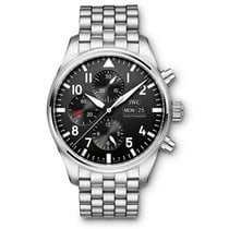 IWC Pilot Chronograph Steel 43mm Black United States of America, Florida, Miami