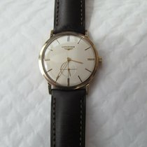 Longines Yellow gold 33mm Manual winding 24052 pre-owned United Kingdom, kings lynn, norfolk.