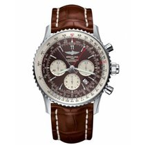 Breitling Navitimer Rattrapante Steel 45mm No numerals