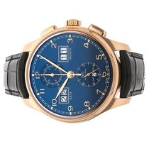 IWC Portuguese Perpetual Calendar Digital Date-Month Rose gold 45mm Blue Arabic numerals United States of America, Florida, Miami