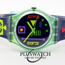 Swatch Plastic 34mm Quartz GG113 new