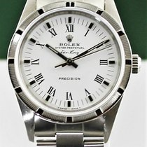 Rolex Air King Precision Сталь 34mm Белый