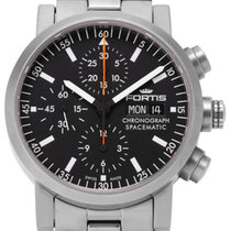Fortis Steel 40mm Automatic 625.22.141 pre-owned