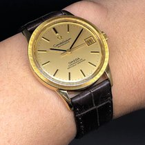 Omega Yellow gold Automatic Gold 34mm pre-owned