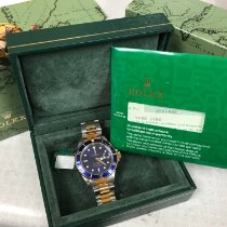 Rolex Submariner Date Gold/Steel 40mm Blue No numerals United States of America, Alabama, ANNISTON