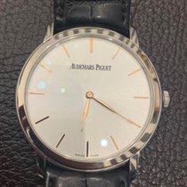 Audemars Piguet Jules Audemars Oro blanco 41mm Plata Sin cifras