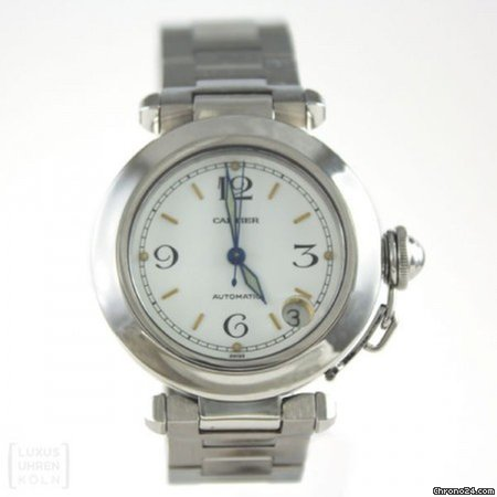 Pasha Automatic Mm Cartier 35 Ref1031 n80wvNm