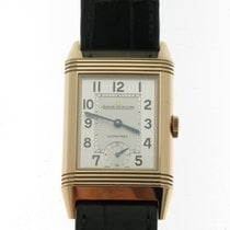 Jaeger-LeCoultre Grande Reverso Night & Day Aur roz 46,8mm Argint Arabic