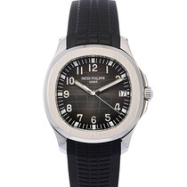 Patek Philippe Aquanaut Steel 40mm Black Arabic numerals United States of America, New York, New York