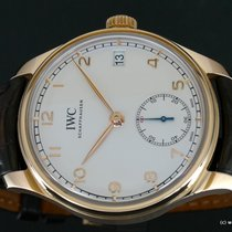 IWC Portuguese Hand-Wound IW510204 2014 pre-owned