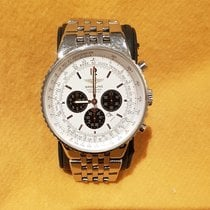 Breitling Navitimer Heritage Steel 43mm White No numerals United Kingdom, Gosport