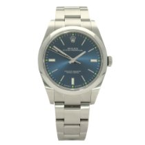 Rolex Oyster Perpetual 39 Steel 39mm Blue No numerals United Kingdom, Liverpool