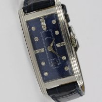 Hamilton Platinum Manual winding Blue 20mm pre-owned