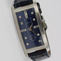 Hamilton gebraucht Handaufzug 20mm Blau
