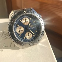 Breitling Aeromarine Steel 41mm Blue No numerals