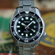 Seiko Marinemaster Steel 44,3mm Black No numerals