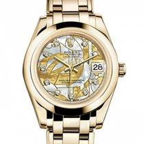Rolex 81208 Oro amarillo 2010 Pearlmaster 34mm nuevo