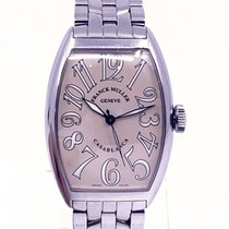 Franck Muller Steel Automatic 40mm pre-owned Casablanca