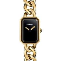 Chanel Première Yellow gold 16mm Black