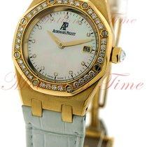 Audemars Piguet Royal Oak Lady Rose gold 33mm Mother of pearl No numerals