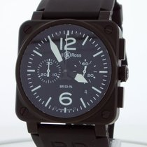 Bell & Ross BR03-94 Steel BR 03-94 Chronographe 42mm pre-owned United States of America, New York, Greenvale