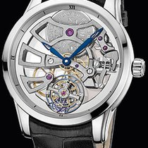 Ulysse Nardin Platinum Manual winding pre-owned Classic Skeleton Tourbillon