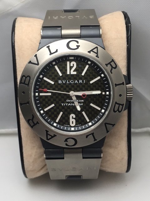 2f040c8154d Bulgari Diagono Titanium - all prices for Bulgari Diagono Titanium watches  on Chrono24