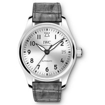 IWC Pilot's Watch Automatic 36 Steel 36mm Silver Arabic numerals United States of America, Pennsylvania, Holland