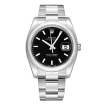 Rolex Date 115200 34mm Stainless Steel Oyster Band Model with...