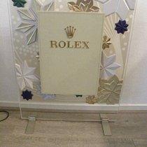 Rolex jewelers  dealer Display decoration window watch leather...